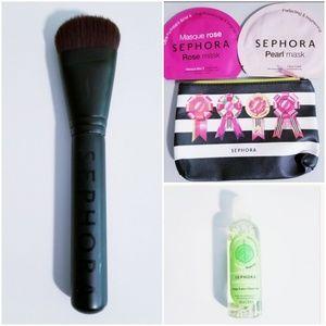 Sephora Mask, Brush & Micellar Water Combo